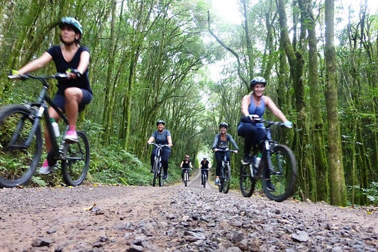 De Bicicleta no Vale dos Vinhedos (RS)