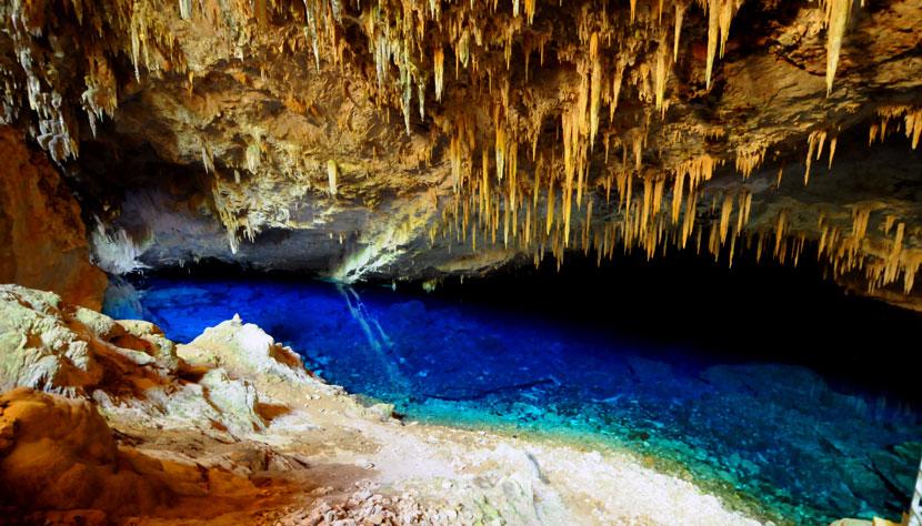 Gruta do Lago Azul - A atração mais