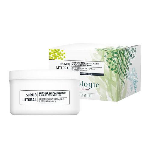 Scrub Littoral - Body scrub with sea salts & essentials oils 150ml