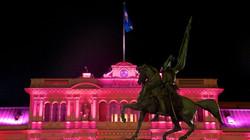 Casa Rosada à noite