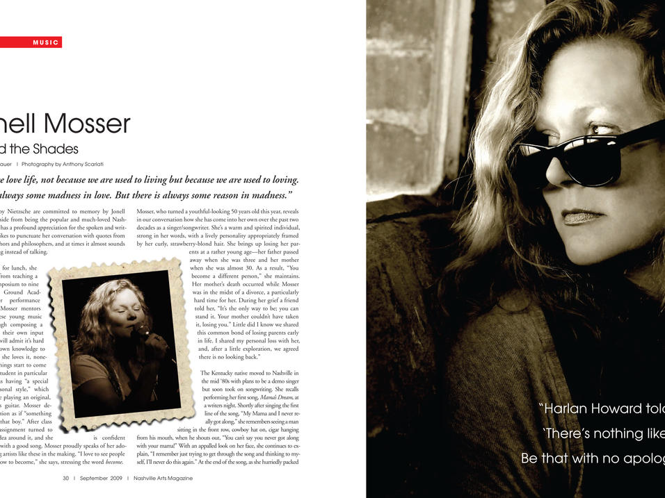 Story: Jonell Mosser - Behind the Shades