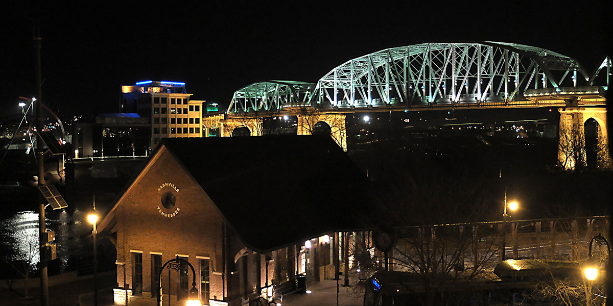 Shelby St. Bridge Nashville