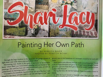 Story: Shari Lacy - Painting Her Own Path