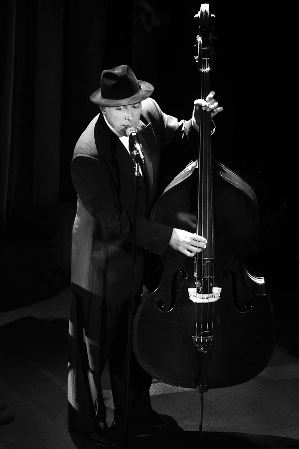 Big Bad Voodoo Daddy Bass Player