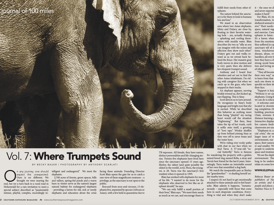 Story: Journal of 100 Miles - Where Trumpets Sound