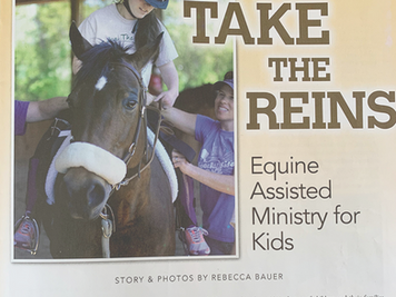 Photos & Story: Take The Reins - Equine Assisted Ministry for Kids