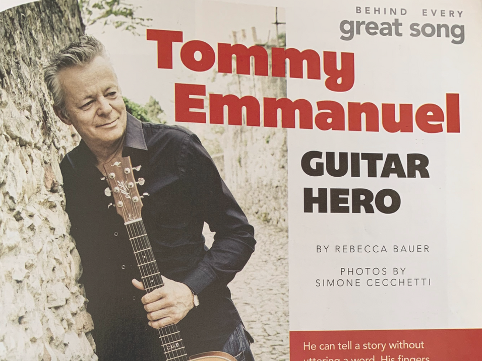 Story: Tommy Emmanuel - Guitar Hero