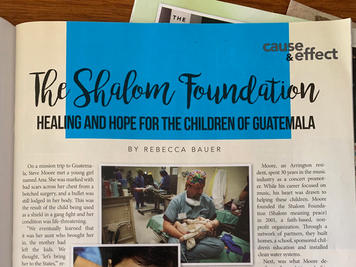Story: Shalom Foundation - Healing and Hope for the Children of Guatemala
