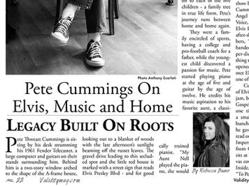 Story: Pete Cummings On Elvis, Music & Home