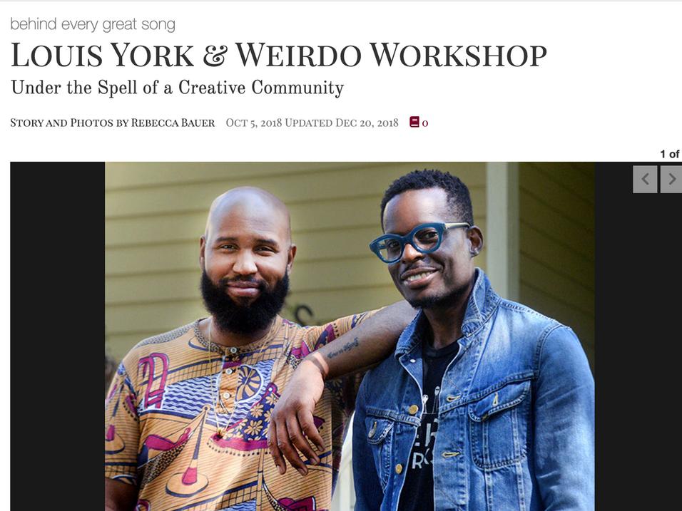 Photos & Story: Louis York & Weirdo Workshop