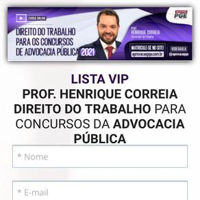 DIREITO DO TRABALHO PARA CONCURSOS DA ADVOCACIA PÚBLICA