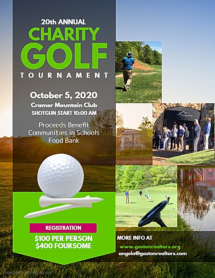 Copy of Charity Golf Tournament Flyer Te