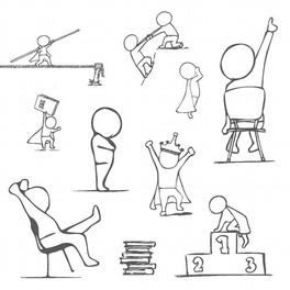 Illustraties voor MentaalBeter