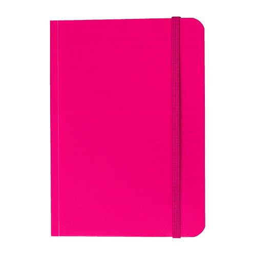 Caderno Flex médio 80fls - Cós Rosa