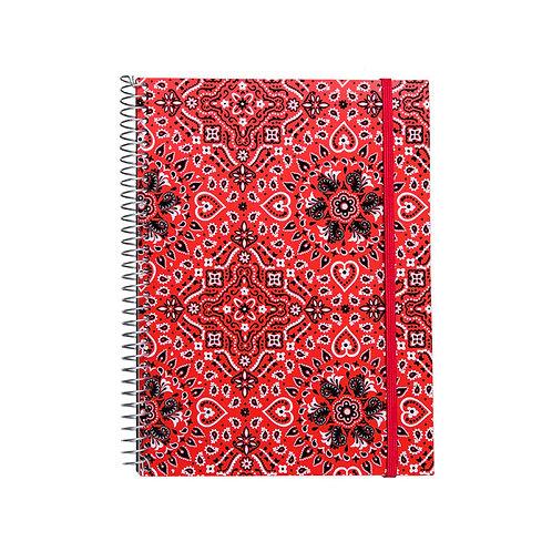 Caderno Universitário 1 matéria 96fls - Bandana