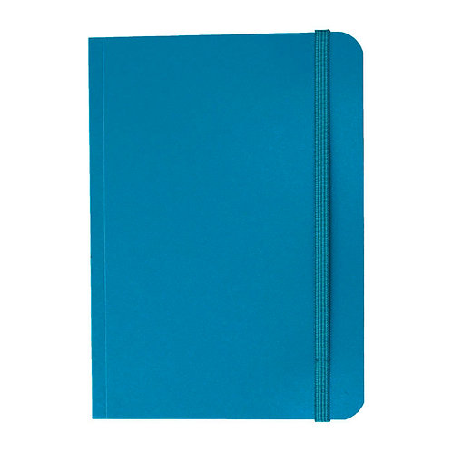 Caderno Flex médio 80fls - Cós Azul