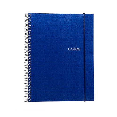 Caderno Universitário 10 matérias 200fls - Notes Azul