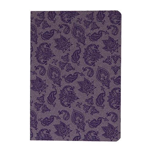 Caderno Flex grande 80fls - India Lilás