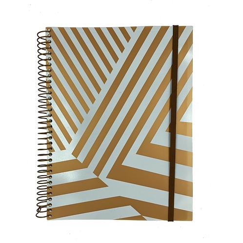 Caderno Universitário Ouro Branco