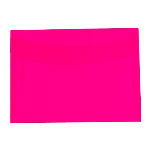 Pasta Envelope A4 - Splash Rosa