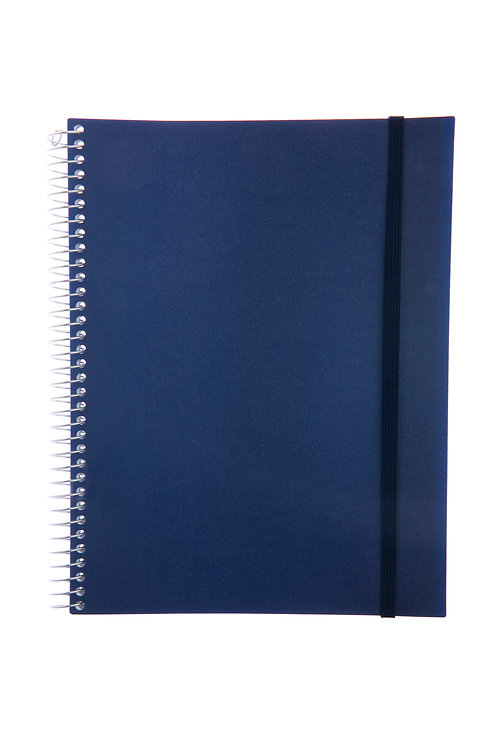 Caderno Universitário 1 matéria 96fls - Cós Azul
