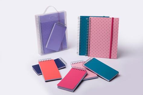 Kit Caderno e Bloco
