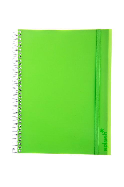 Caderno Universitário 1 matéria 96fls - Splash Verde