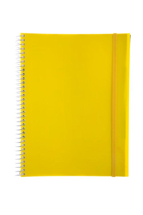 Caderno Universitário 1 matéria 96fls - Splash Amarelo