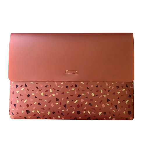 Pasta Envelope A4 - Mineral Pink Bronze