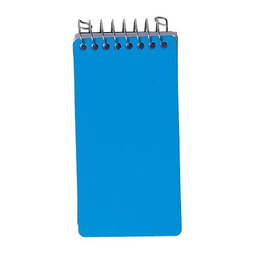 Bloco de Bolso 120fls - Splash Azul