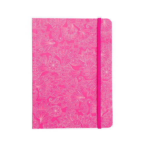 Caderninho Flex 80fls - Cashmere Rosa