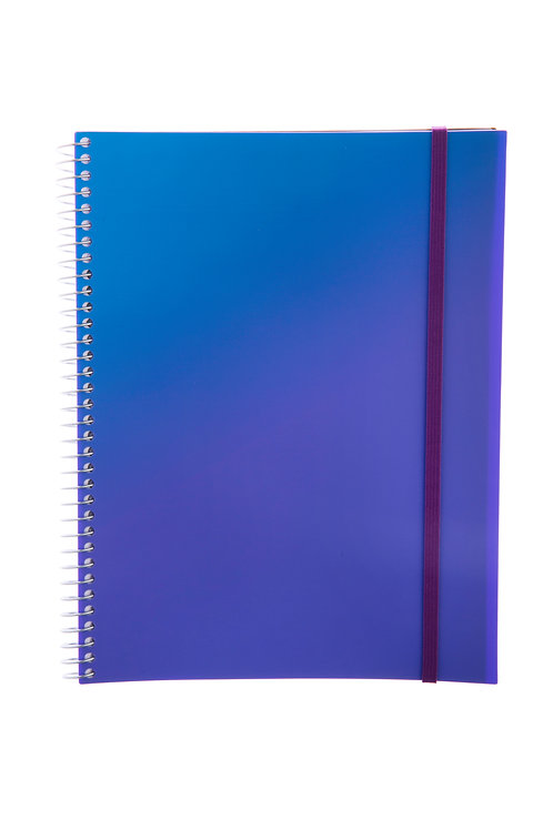 Caderno Universitário 10 matérias 200fls - Splash Roxo