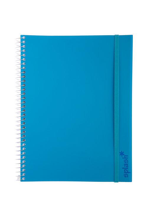 Caderno Universitário 1 matéria 96fls - Splash Azul