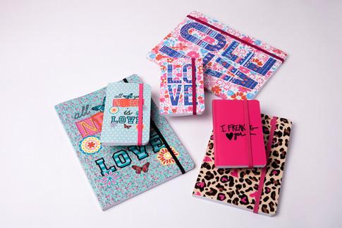 Cadernos e Cadernetas Flexíveis