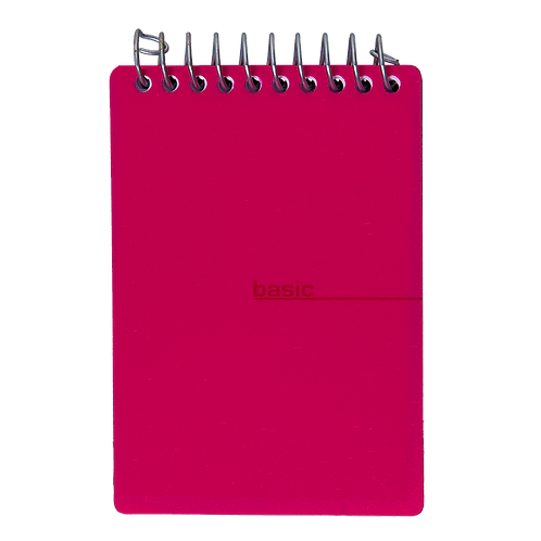 Bloco Repórter 100fls - Basic Rosa
