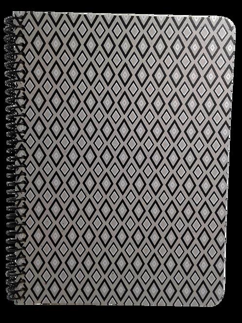 Caderno Universitário 80fls - Gravataria Escuro
