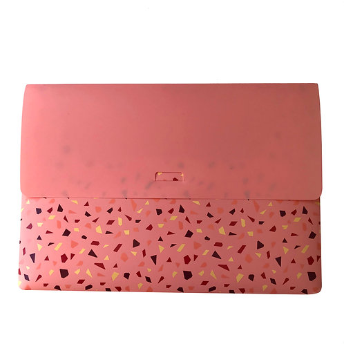 Pasta Envelope A4 - Mineral Pink Rosa