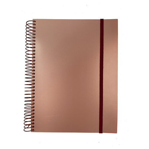Caderno Universitário Splash Metálico