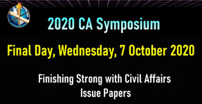 Symposium to Finish Strong with Civil Affairs Issue Papers