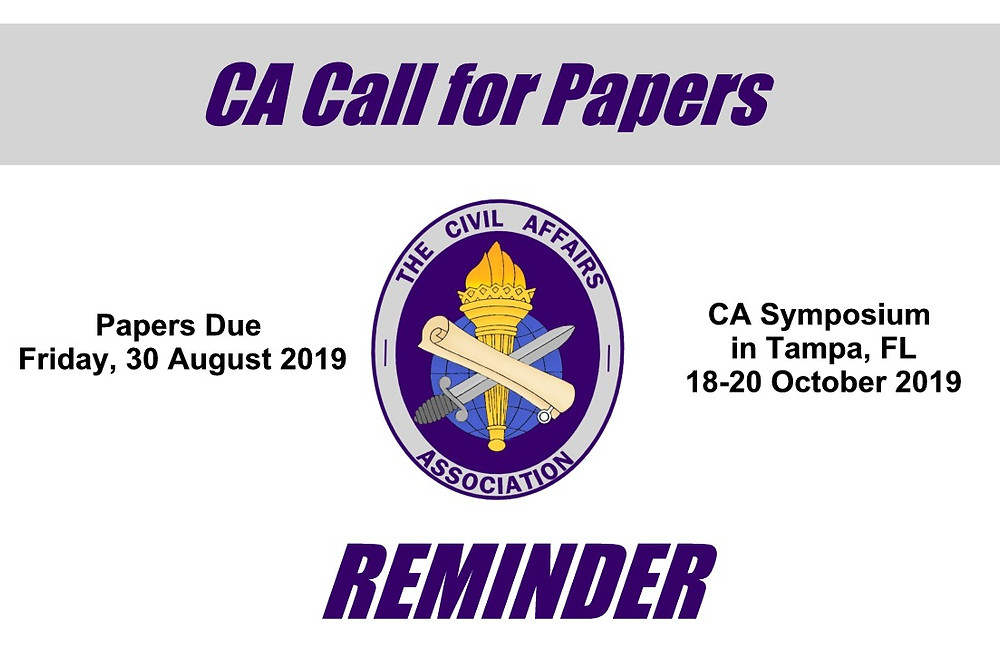 CA Call for Papers