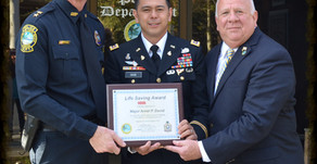 "CA Soldier Awarded State of Florida ""Life Saving Award"""