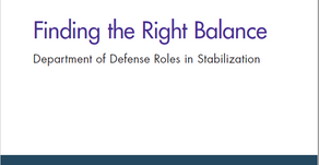 RAND Issues New Report on Stabilization for DoD