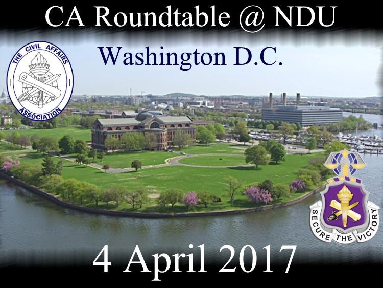 CA Roundtable @ NDU