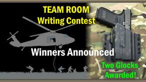 """Team Room"" Writing Contest Winners: Two Glocks and Other Prizes Awarded"