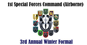 1st Special Forces Command (Airborne) 3rd Annual Winter Formal