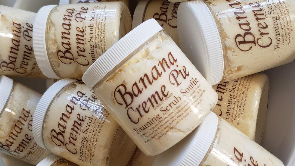 BANANA CREME PIE (Banana Laffy Taffy) FOAMING SCRUB SOUFFLE