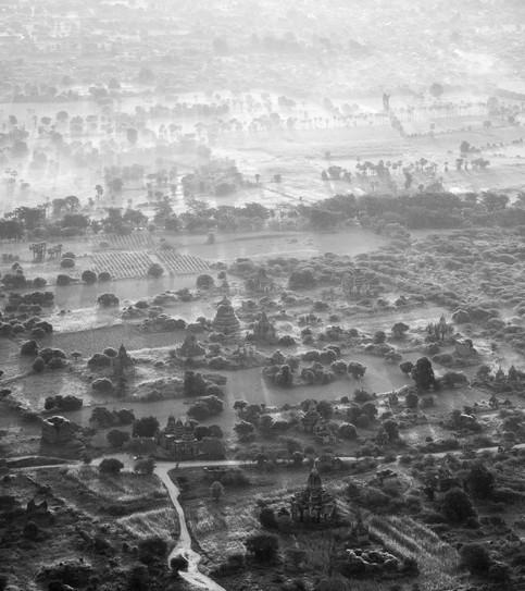 Bagan from air