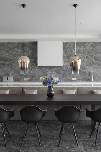 Modern house kitchen