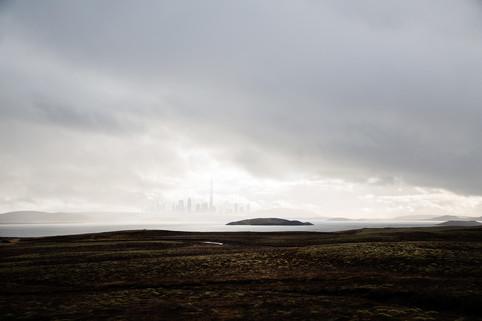 Iceland/Dubai surreal