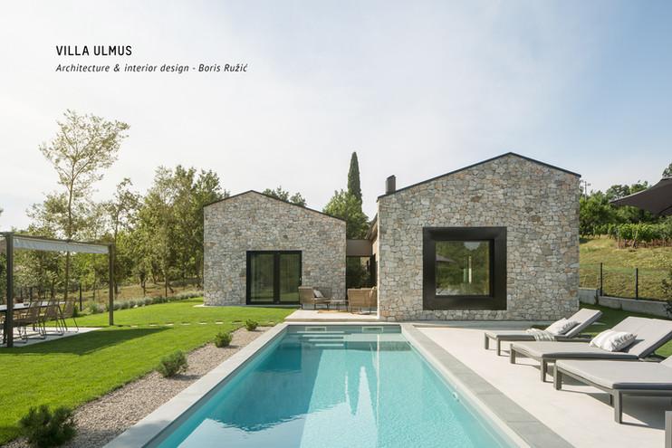 Villa Ulmus pool 1